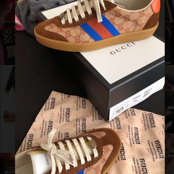 Gucci Shoes   Gucci G74 Low Gg Sneaker